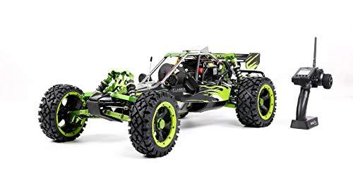 MZL Remote Car Rock Crawler 1:5 high with adult fuel remote control model/double row silencer exhaust pipe / 45cc single cylinder/four-way fixed gasoline engine (professional competition)