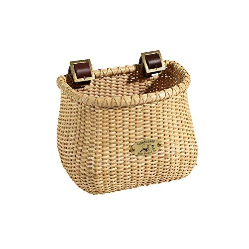 Nantucket Bike Basket Co Kid's Lightship Classic Basket, Natural