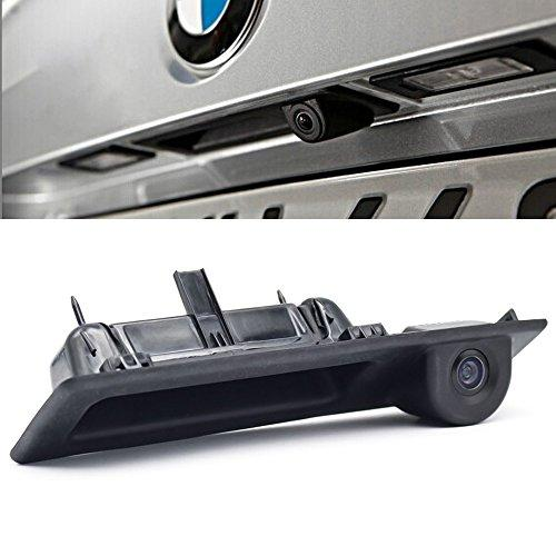 Navinio Backup Camera with Tailgate Handle for Universal Monitors (RCA) ,Rear View reverse parking Camera for M5 M3 F10 F11 F30 320Li 530i 328i 535Li X3 X5 car camera auto