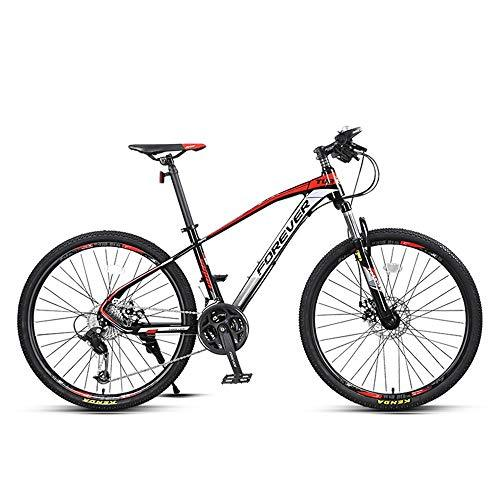 NBWE Mountain Bike Shifting with Off-Road Aluminum Double Shock Absorber Male Adult 30 Speed Commuter bicycle