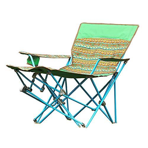 NEVY-Camping chairs With Cup Holder Folding Portable Multifunction Lounge Chair Fishing Beach Reclining