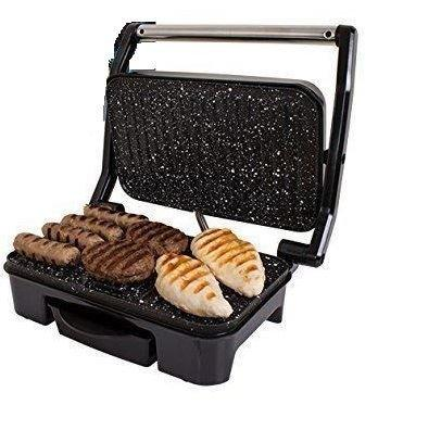NEW DELUXE PANINI TOASTED SANDWICH PRESS TOASTIE MAKER 1500W DELUXE HEALTH GRILL
