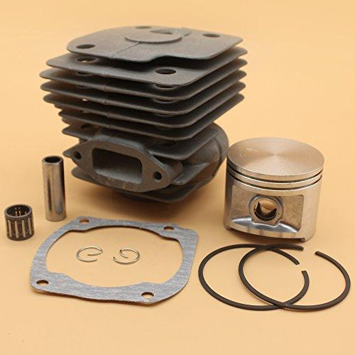 NIKASIL PLATED Cylinder Piston Bearing Gasket 50mm Kit For HUSQVARNA 365 371 372 XP 362 Chainsaw 2 Stroke Engine Motor Parts