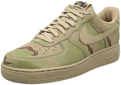 Nike Air Force 1 Reflective Desert Camo - Sand/Sand-Black Trainer Size 6.5 UK
