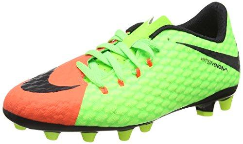 076230a6a ... free shipping nike boys hypervenom phinish ii ag football boots green  electric green black 8bea4 bf291