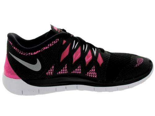 new style 3cb06 d2710 ... official store nike free 5.0 black pink youths trainers size 6.5 uk  7045e bcabd