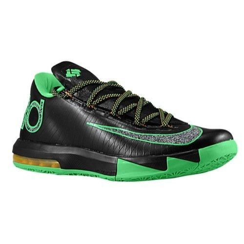Nike KD VI (Night Vision-Brazil) Black/Lucid Green-Atomic Mango (8.5)