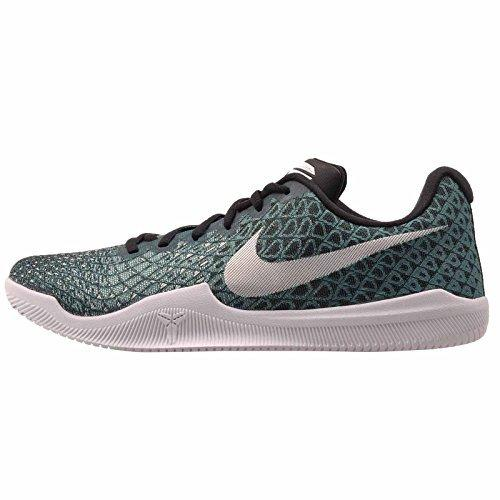 NIKE Mens Kobe Mamba Instinct Basketball Shoes Turbo Green/White-Black-Igloo (8.5)