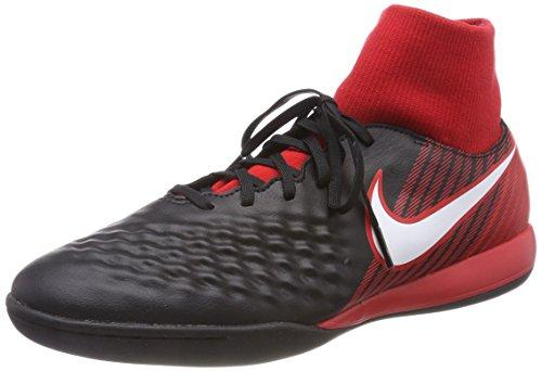 NIKE Men's Magistax Onda II DF IC Football Boots, Schwarz (Schwarz/Weiß-Universität Rot 061), 7 UK