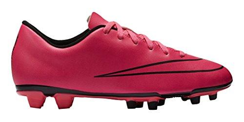 Nike Mercurial Vortex II Firm Ground, Men's Football Boots, Hyper Pink/Hyper Pink/Black/Black, 10.5 UK