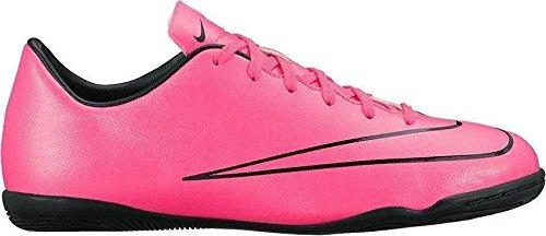 Nike Unisex Kids' Junior Mercurial Victory V IC Football Boots, Hyper Pink Blk, 4.5 UK