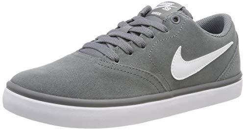 Nike Women's Men's Sb Check Solarsoft Skate Basketball Shoes, (Cool Grey/White 005), 4.5 UK 4.5UK Child
