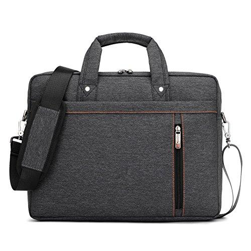 Nlyefa Laptop Bag 13-17 Inch, Notebook Case Laptop Tablet Shoulder Bag 360 Shockproof Business Bag Computer Bag Waterproof with Shoulder Strap for School Study Travel and Office