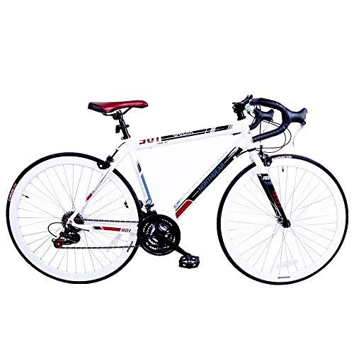 North Gear 901 14 Speed Road/Racing Bike with Shimano Components White