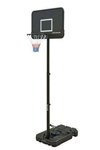 Northern Stone Pro Court Free Standing Height Adjustable Portable Basketball Hoop System with 44 Inch Impact Backboard Official Height