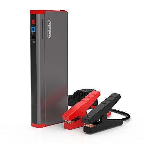 NTONPOWER Jump Starter Pack, Battery Booster Emergency, 800A 18000mAh Portable Jump Starter, for Car, Motorcycle, Trucks Laptop Tablet Phone Power Bank- Grey