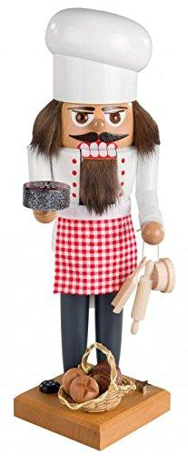 Nutcracker Christmas figure nutcracker baker size of approx. 29 cm NEW