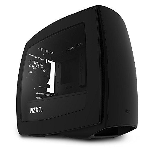 NZXT Manta Black - Mini Tower Gaming PC Case, Upto mini-ITX, 3x 120mm Fan - CA-MANTW-M1