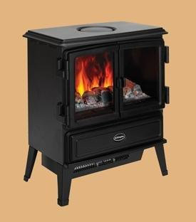 Oakhurst OptiMyst Stove OKT20 with 2kW Fan Heater, Remote Control, H620*W480*D30