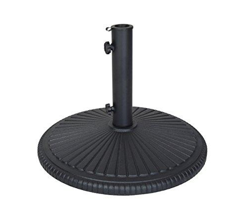 Oakland Living Heavy Duty Cast Iron Umbrella Stand, Black