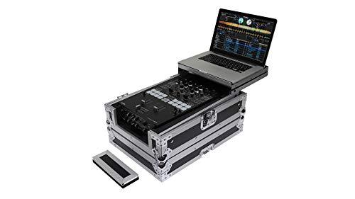 Odyssey Flight Zone Low Profile Glide Style Universal 10 Inch DJ Mixer Case, FZGS10MX1XD