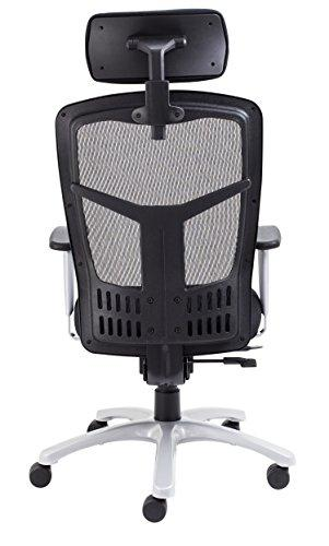 ... Office Hippo 24 Hour Executive Office Chair With Headrest And  Adjustable Arms, Fabric,