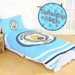OFFICIAL MANCHESTER CITY Duvet Quilt Cover Bedding SET MAN CITY FOOTBALL BOY KID