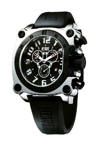 Offshore Men's OFF007G Z Drive White PVD and Silver Chronograph Rubber Watch