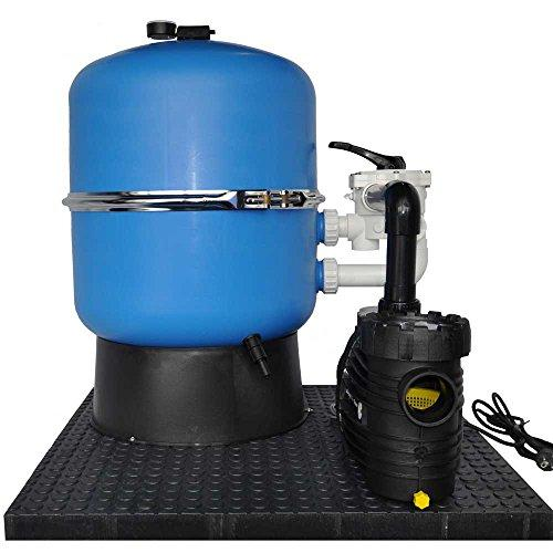 OKU Hawaii Sand Filter System Diameter 500 mm with Aqua Plus 8 230 Volt Pump