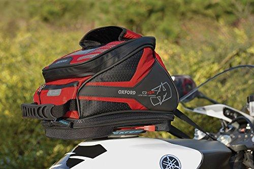 OL291 - Oxford Motorbike Motorcycle Q4R TANK BAG - RED