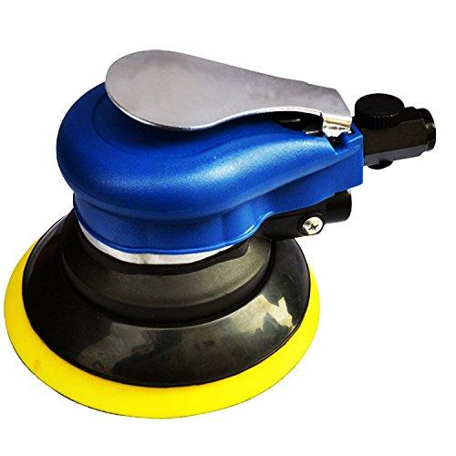 "Olayer 5"" Random Orbital Air Palm Sander 125mm Velcro Pad Hand Power Tool Polisher"