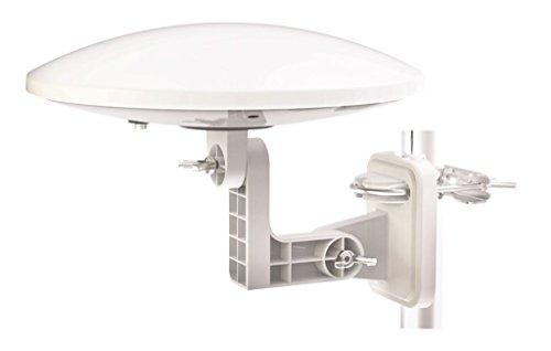 Omni-Directional Digital & DAB Outdoor Aerial with Amplifier, ideal for use with caravans, boats and mobile homes.