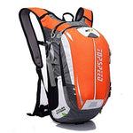 ONENICE Bike Backpack Daypack for Cycling Running Hiking Trekking Camping - Most Durable Light Waterproof Sports Bag with Tremendous Pockets + Back Massage System + Unique Helmet Net