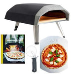 Ooni Koda Gas-Fired Outdoor Pizza Oven with Cookbook and Accessories