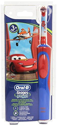 Oral-B Stages Power Electric Toothbrush for Children 3 Years and + - Colour : Cars
