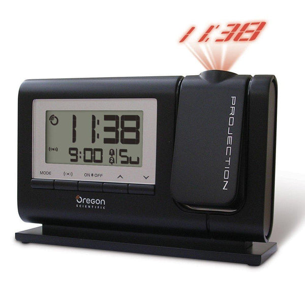 Oregon Scientific Classic Projection Alarm Clock, Black