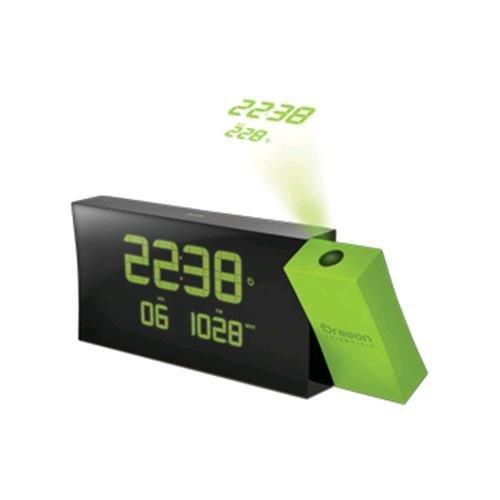 Oregon Scientific RRM 222PN Prysma Projection Alarm Clock Green