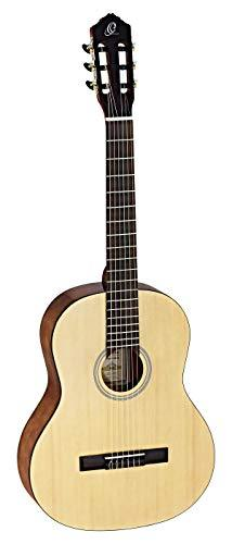 Ortega Guitars RST5 Student Series Full Size Classical 6-String Guitar, Spruce Top, Catalpa Body Natural Gloss Finish