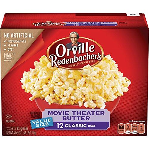 ORVILLE REDENBACHER'S Microwave Movie Theater Butter, 39.49 oz