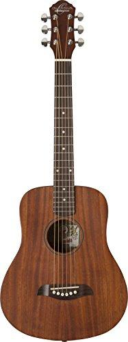 Oscar Schmidt 6 String Mini Acoustic Travel Guitar. Natural (OGM8M-A)