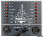 Osculati Control panel thermo-magnetic switches sailboat