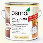 Osmo Polyx Hard Wax Oil 3032 Satin 2.5L Tin + a Set of 2 Oak Lazer Pipe Covers 10mm high