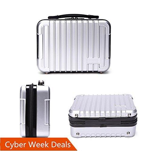 Oukey DJI Spark Case, Durable Compact Portable PC HardShell Travel Handy Suitcase for Spark