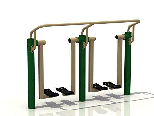 Outdoor Double Health Walker Exercise Station & Fitness Equipment Key Stage 3 4 & Adult