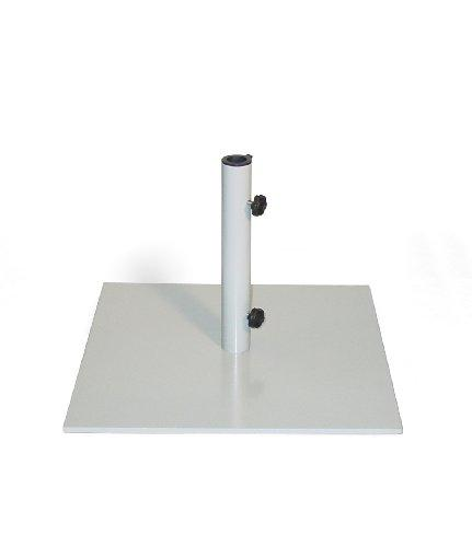 Oxford Garden UB40G Market Umbrella Stand Square - 40 lb Gray