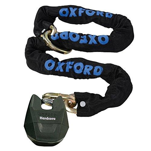 Oxford Hardcore XL High Security Motorbike Chain and Lock - 1.5M