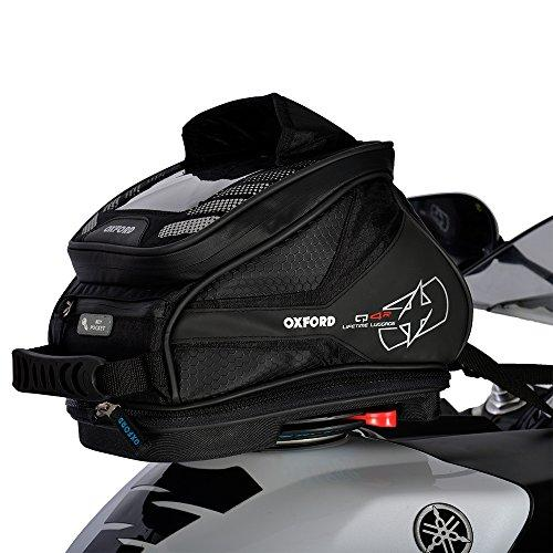 OXFORD LUGGAGE Motorbike Luggage Motorcycle Tailpack Q4R Lifetime Lightweight 4L Tank Bag Black