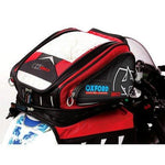 Oxford OL127 X 30 Red Magnetic Motorcycle Tank Bag