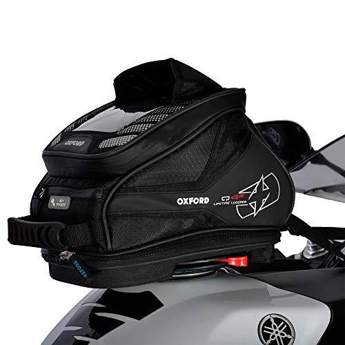 Oxford Q4R Quick Release Motorcycle Tank Bag – Black 4Liter