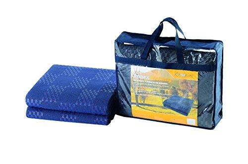 Oztrail Annex Matting 2.5x6m carpet for your campsite (CTA-AM06-D) Inter-Locking Floor Mats, Breathable Easy Lock Floor Tiles, Interlocking floor camping garen caravan awning mats